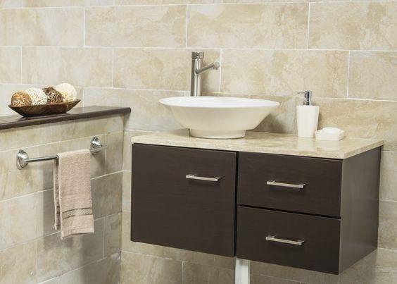 Vanitorio mueble de ba o con lavamanos incluido en mercado libre - Muebles lavamanos bano ...