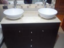 vanitorios de marmol nuevos imperdibles 1.20 x 0.50