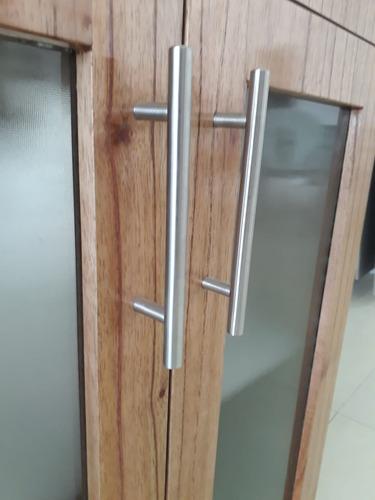 vanitory 62 cm con bacha de loza color miel con puertas