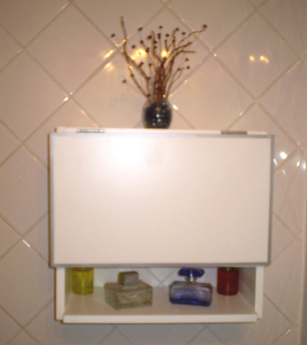 vanitory accesorio, mueble baño toallero esquinero
