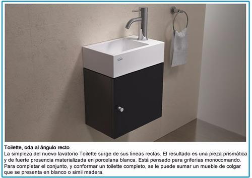 vanitory conjunto ferrum armónica yl15a toilette wengue baño