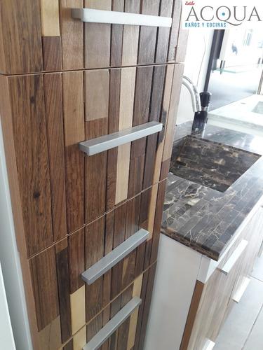 vanitory diseño exclusivo 80 madera rustico macizo