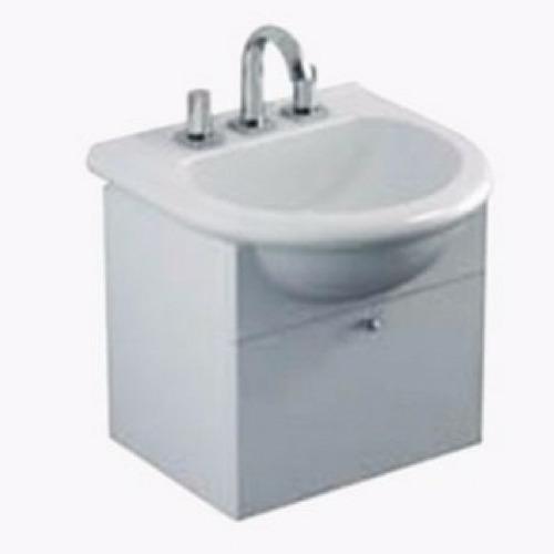 vanitory para baño colgar  bacha avignon 50 ferrum original