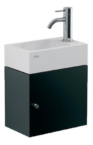 vanitory y lavat de colgar yl15a/b7 toilette wengue ferrum