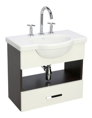 vanitory y lavatorio de colgar y6vxq/b4 64cm venecia ferrum