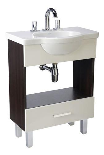 vanitory y lavatorio de pie y6vxk/b4 64cm wng venecia ferrum