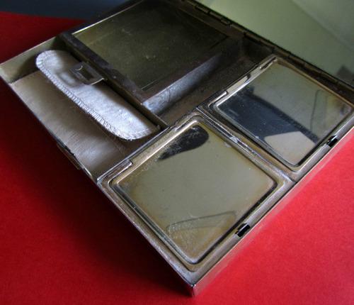 vanity dorado excelente estado, 1940-50, coleccion.