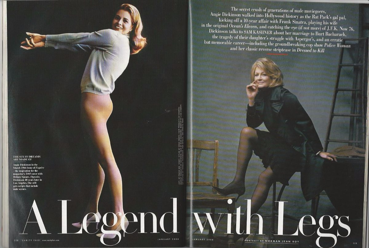legs Angie dickinson