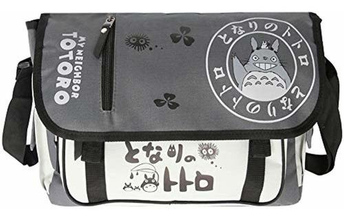 vanlison bolsa de mensajero totoro, bolsa