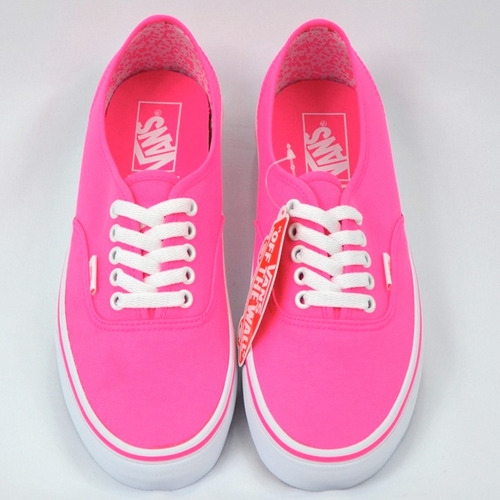 vans authentic neon splatter tenis 100% originales