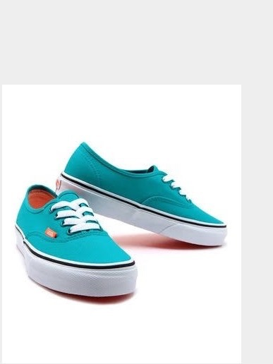 Vans Authentic (neon) Tile Blue   Coral Exclusivo Supply - R  259 79b5a98944