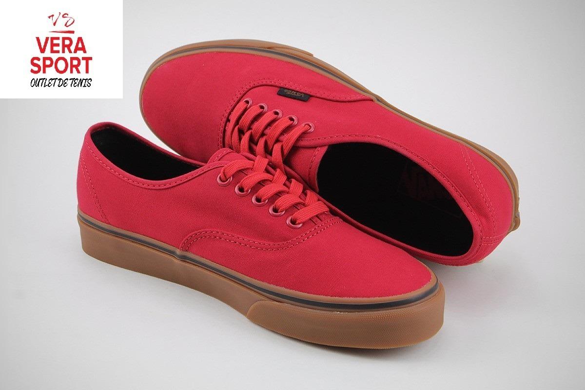 Vans Authentic Red Gum -   799.00 en Mercado Libre 65703cfd5624