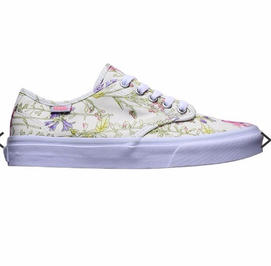 Vans Camden Stripe Zapatilla Lona Skate Mujer Flores -   1.899 8e23d22858d