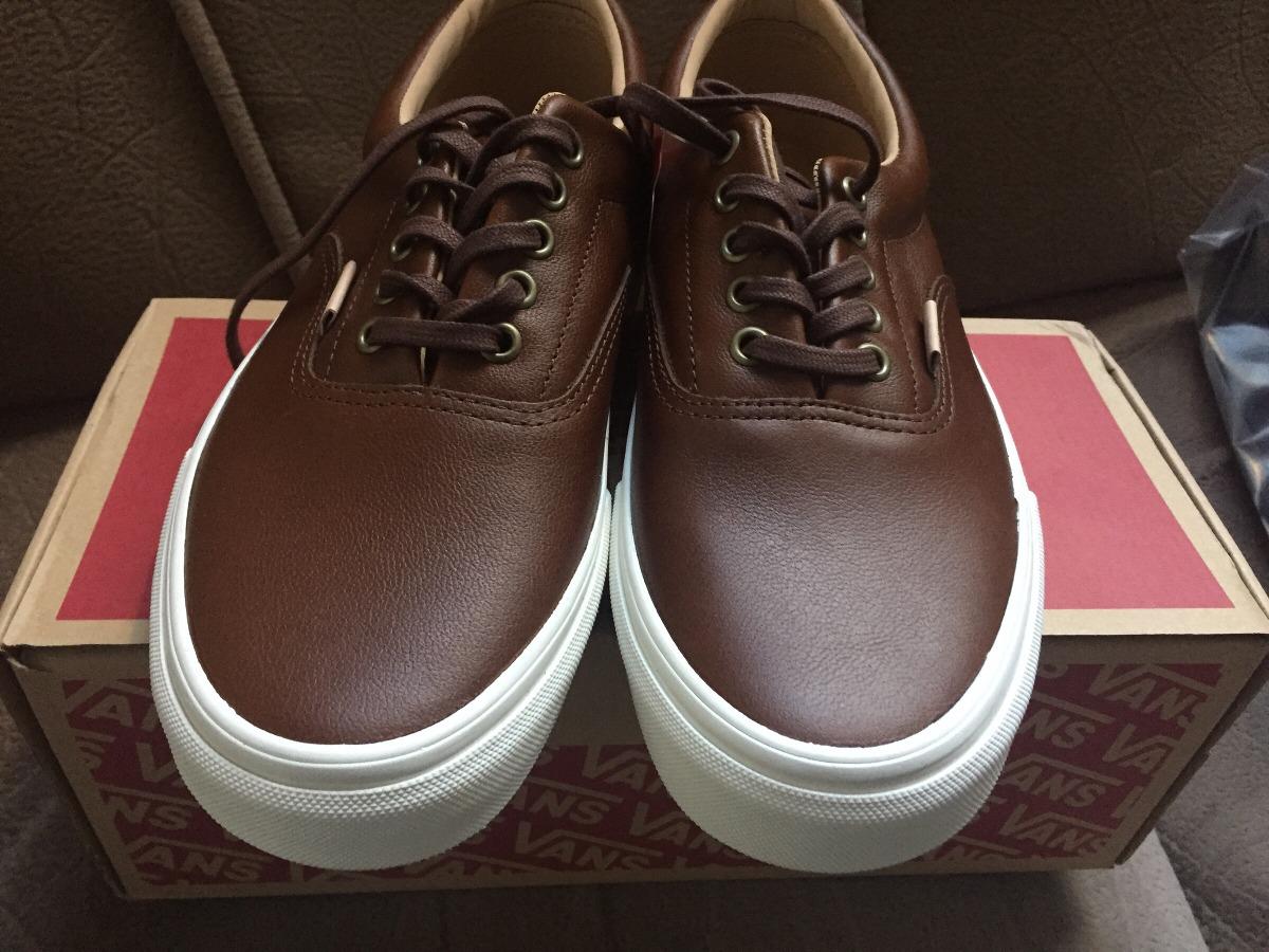 fe85a53424 vans era (lux leather) piel. Cargando zoom.