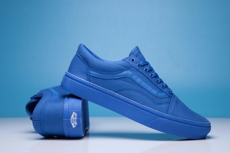 69904c0cdf313 Zapatilla Vans Hombre Mujer Clásica Azules Old Skool -   59.990 en ...