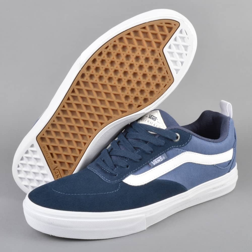 b871f46e3419 vans kyle walker pro b dress blue vintage indigo. Cargando zoom.