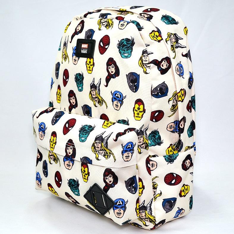bfbd122d4595d Vans Marvel Comics Mochila Backpack 100% Original -   999.00 en ...