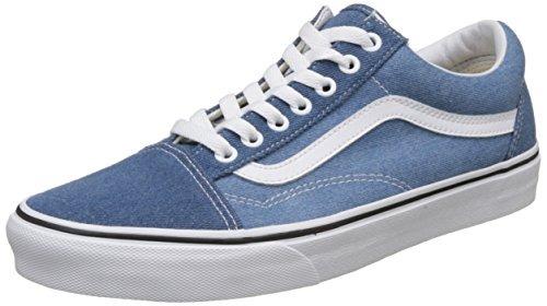 e17a567175 Vans Mens Old Skool Denim 2 Tone Blue True White Tamano 6 ...