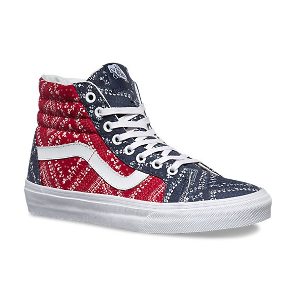0700895ce4671 Zapatillas Vans De Mujer Sk8 Hi Con Diseño - S  199