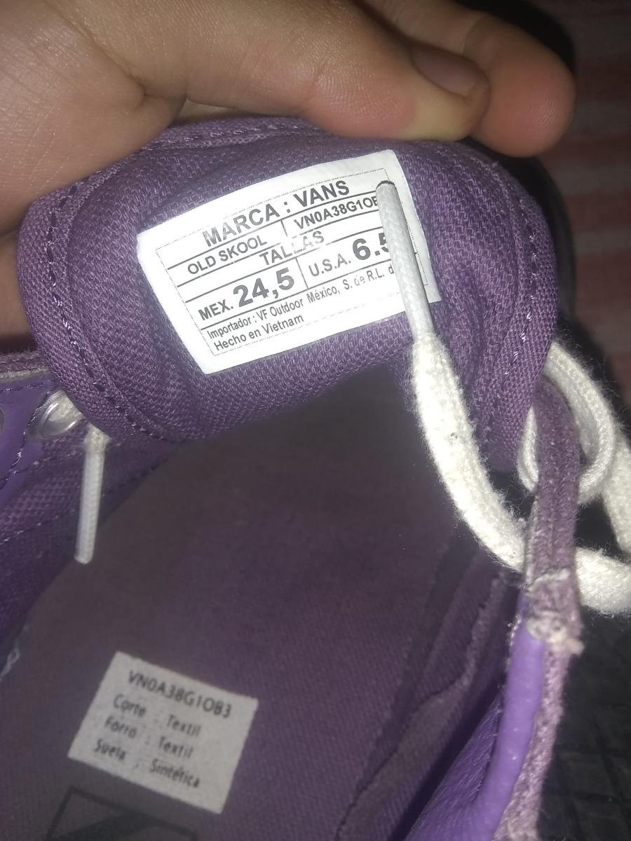 ff1aa3e4ac2 Vans Old Skool Black Sole Purple -   700.00 en Mercado Libre