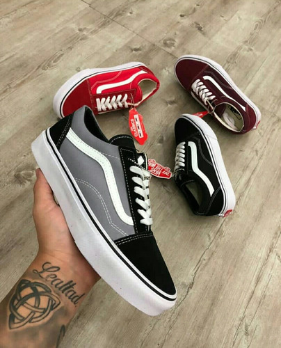 vans old skool originales damas y caballeros