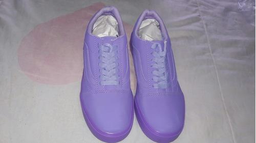 vans old skool púrpura