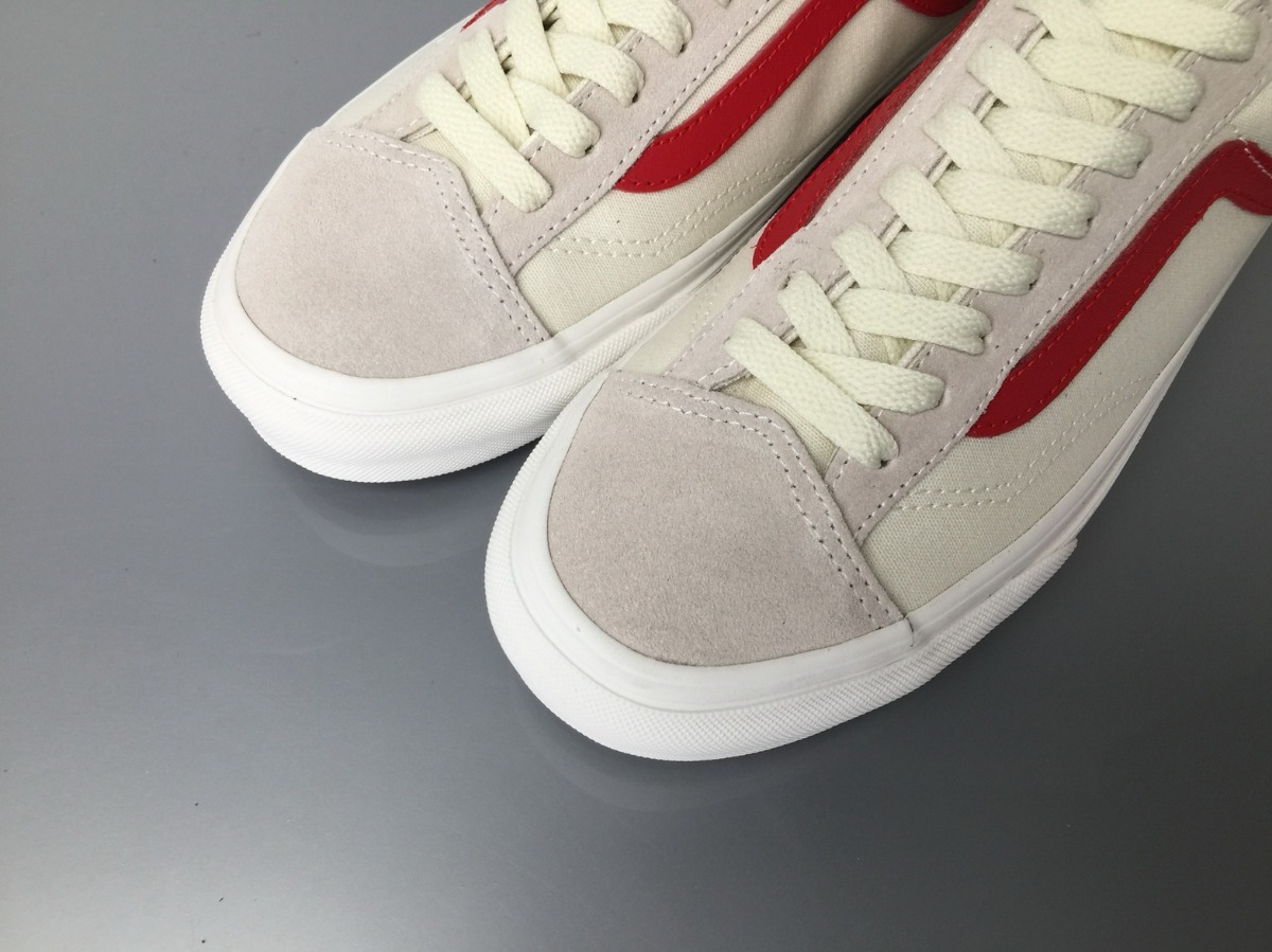 ab1153bdd8 Vans Old Skool Style 36 Marshmallow   Racing Red -   450.000 en ...
