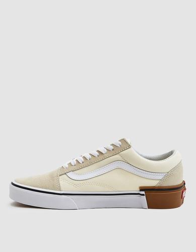 vans old skooll gum block white zapatillas tenis originales