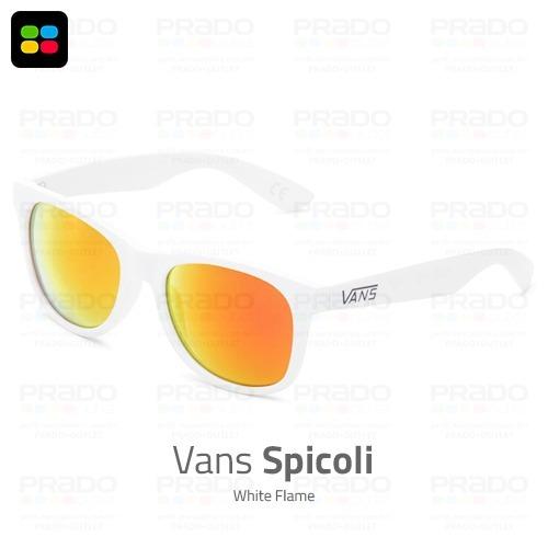 5a4fd4467e4b6 Vans® Spicoli 2018 White Flame- Óculos De Sol Original Usa! - R  149 ...