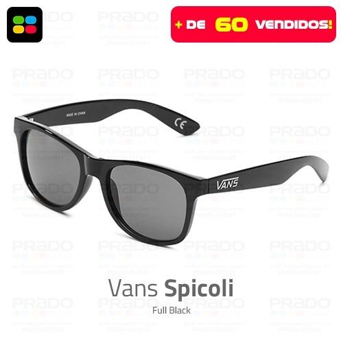 31fc31866688d Vans® Spicoli Full Black - Óculos De Sol Original Vans Usa! - R  129 ...