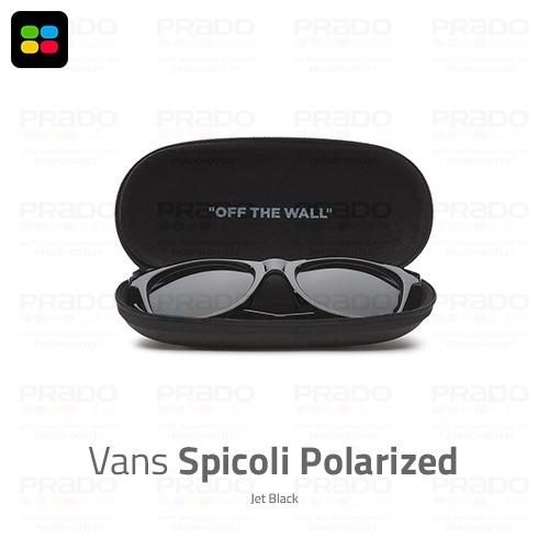 dff7c2aabff01 Vans® Spicoli Polarized Jet Black - Exclusivo! Original Usa! - R ...