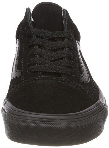 d5c803e795df2 Vans Unisex Adults Old Skool Trainers, Black Suede Black