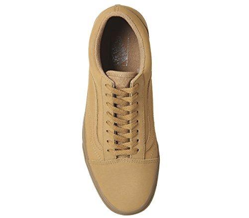 9c6b9ddb348 vans unisex old skool vansbuck light gum mono skate shoe. Vans Old Skool  Vansbuck Black Mono Classic Low Top Sneakers VN0A38G1PXP