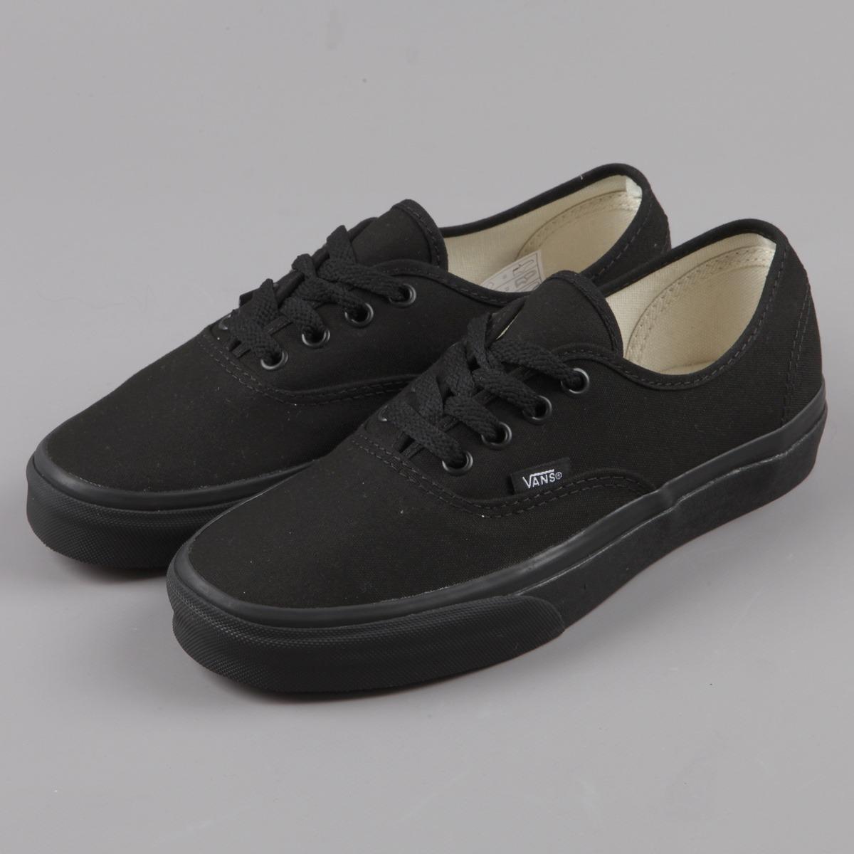 zapatillas mujer negras vans