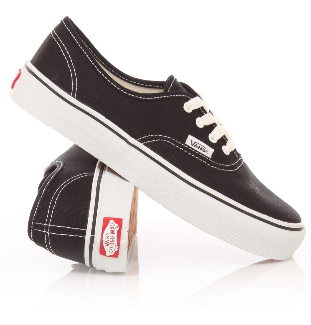 2vans authentic mujer negras