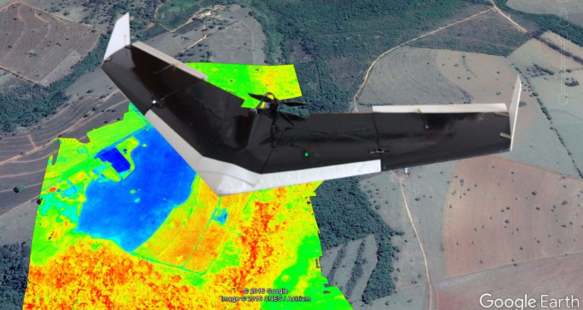 Vant /rpa / Drone Agricultura- C/ Camera Ndvi 12x