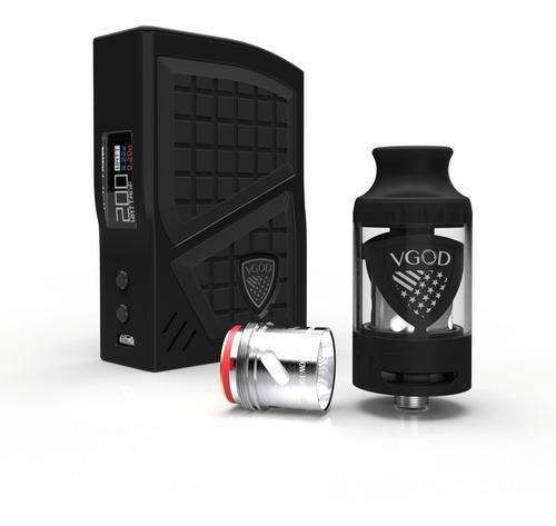 vape vgod pro 200w combinacion de mecanico y pro. vaper ciga
