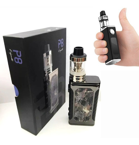 vapeador p8 80w vape/cigarrillo electrónico/juca/hooka/mod