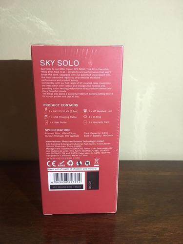 vaper cigarrillo electrónico sky solo .- (30vrds) color rojo