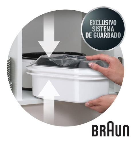 vaporera arrocera eléctrica 3 niveles de braun fs3000
