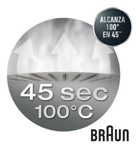 vaporera arrocera eléctrica 3 niveles de braun fs3000 full