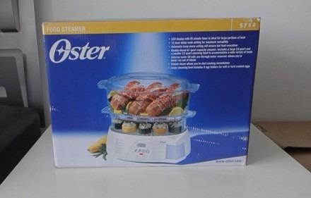 vaporera de alimentos eléctrica de dos niveles oster®
