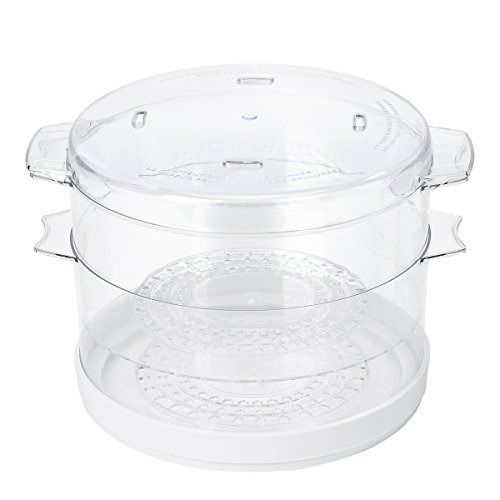 vaporera de alimentos oster 5 qt electrico blanco