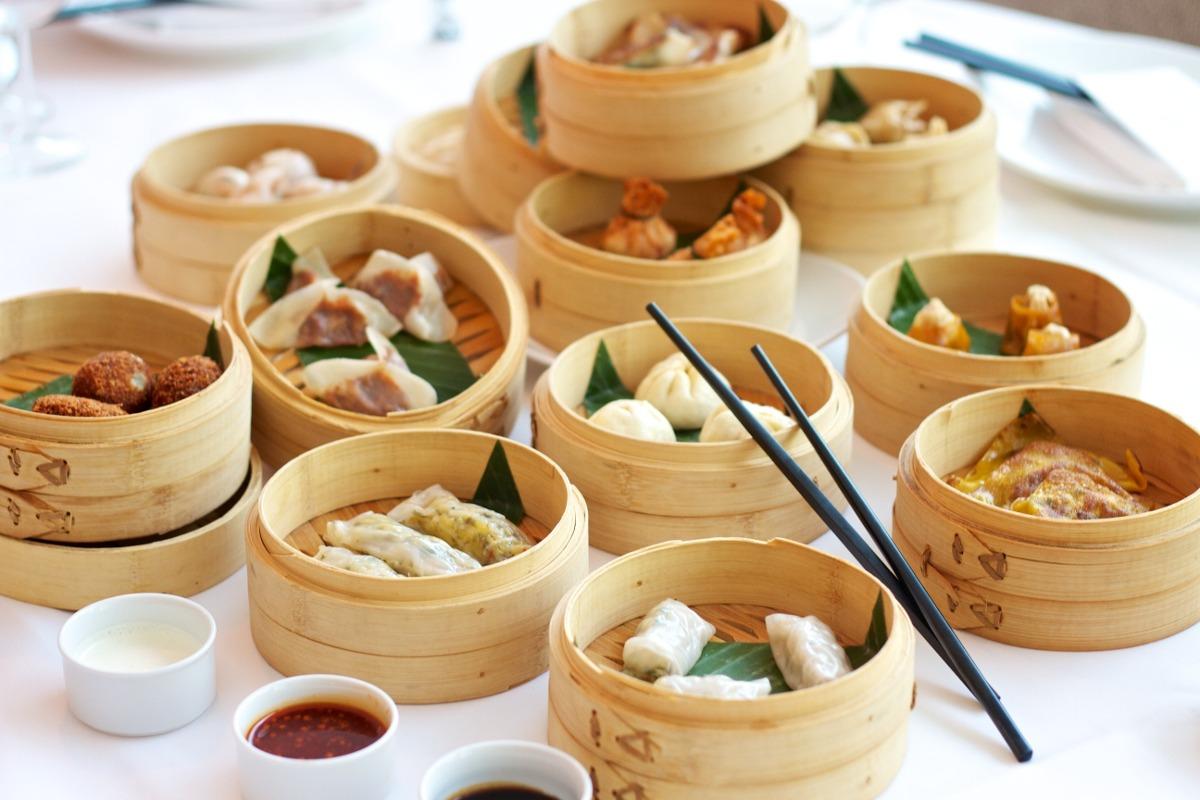 Vaporera de bambu 25cms cocina sano sin grasa china for Utensilios cocina japonesa