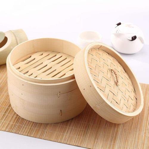 vaporera de bambu china japonesa 15cm envio gratis!!