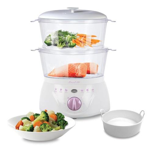 vaporera eléctrica de alimentos smart-tek sd2081