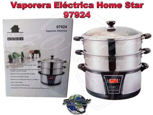 vaporera eléctrica home star 97924