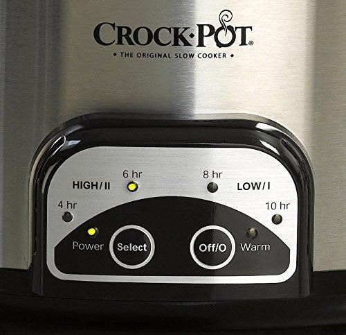 vaporera olla pot todo en uno crock-pot smart-pot  6 cuartos