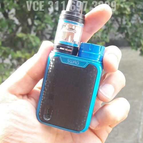 vaporesso swag + bateria + liquido 20ml 100% original vapori