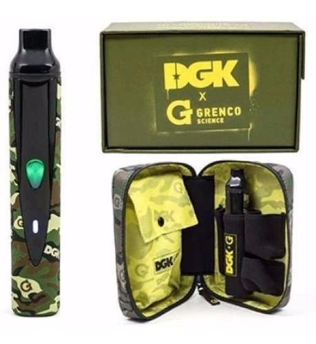 vaporizador de ervas g-pro - dgk - grenco science aroma
